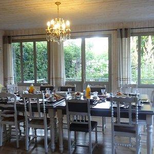 salle du petit dejeuner
