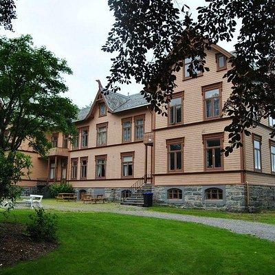 Gamleskolen som er museet nå