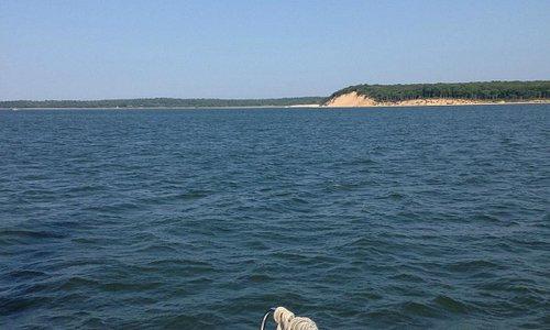 sailing to shelter island