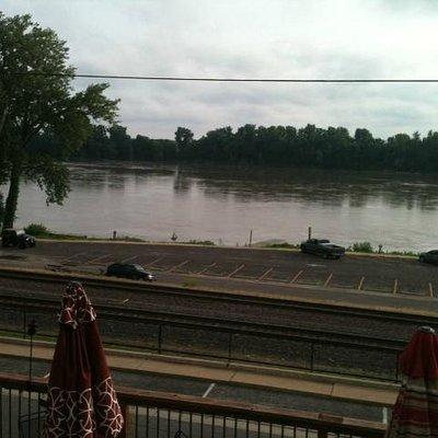 John G's Bier Deck River view West