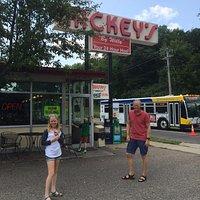 At Mickey's