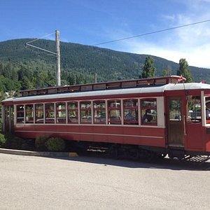 Nelson Tram Car - taken July 2014
