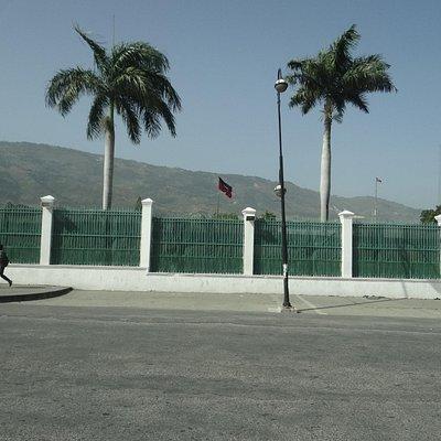 Local do antigo Palácio Presidencial