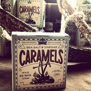 Sea Salt and Vinegar Caramels