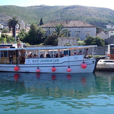 Boat Ribica, Dubrovnik