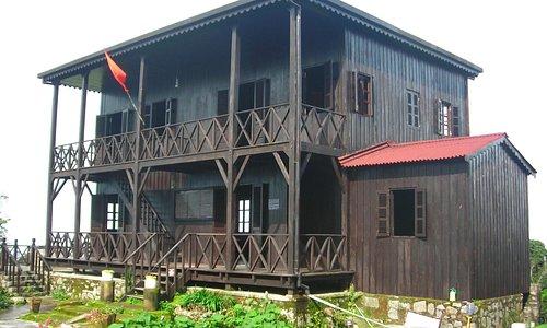 Dr Alexandre Yersin's rebuilt outstation
