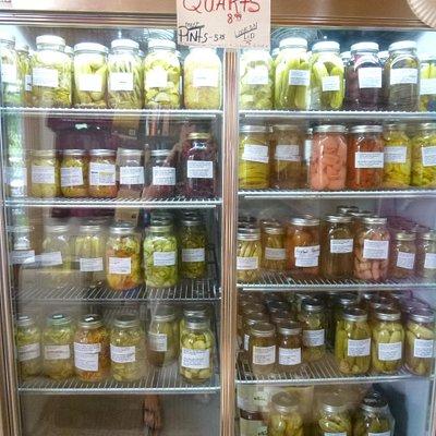 Canned veggie & fruit cooler