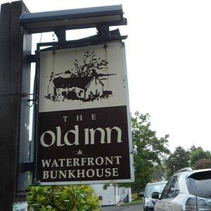 The Old Inn pub sign