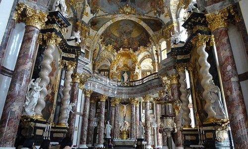 Hofkirche nella Residenz a Würzburg