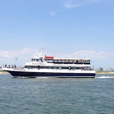 Starstream VII Daily Fluke Boat