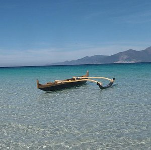 Pirogue made in corse