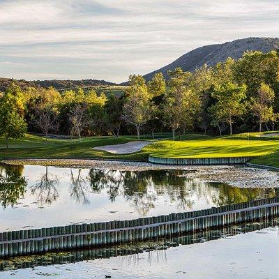 Twin Oaks Golf Course Hole#7