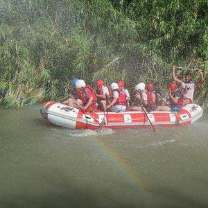 River Rafting on the Segura river