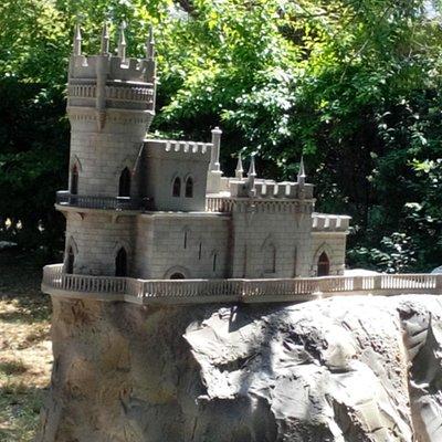 Миниатура Ласточкино гнездо - символ Крыма