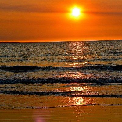 Sunset on Mindi Beach