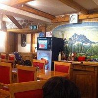 Inside the Resturant