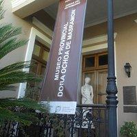 Recuerdo de la fachada del Museo.