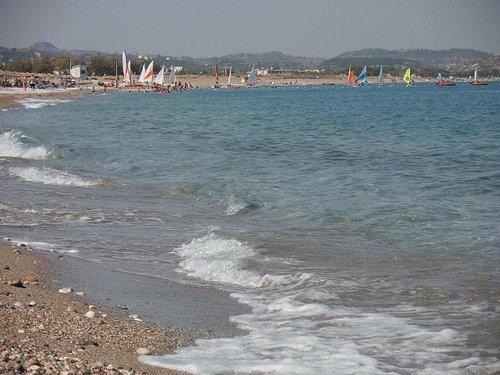 Kolymbia beach