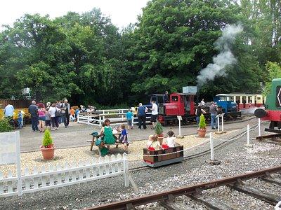 Fun at the Railway Centre!