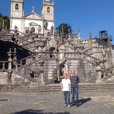 """Magnificent """"Steps of the Virtues"""" at the Sanctuary of Our Lady of Pineda"""