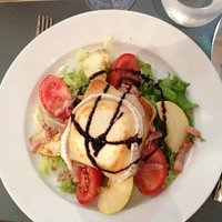 Salad chèvre - simply superb!