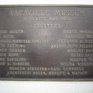 Dedication May 1984