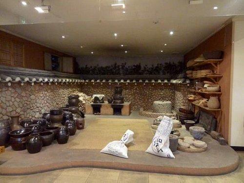 Traditional soju making area