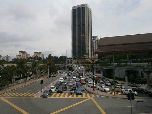 Вид на Putra World Trade Centre