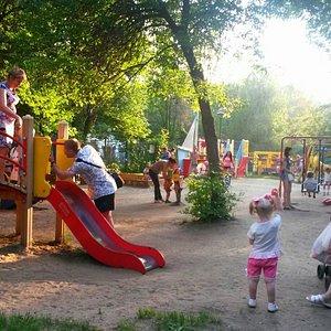 В парке.  Лето 2014 Г.