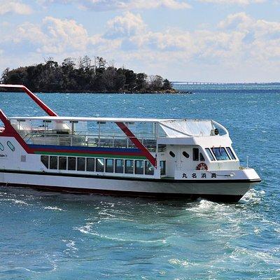 奥浜名湖遊覧船と礫島