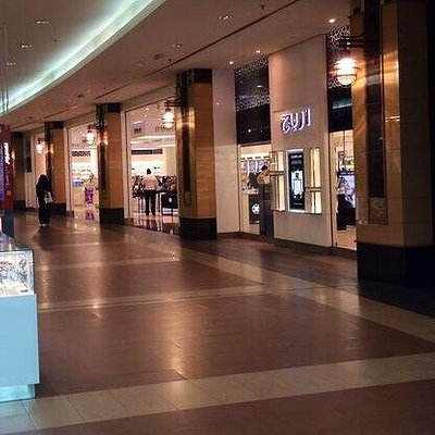 Areej perfumes and cosmetics stores, next to the main entrance