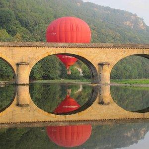 Reflet sur la Dordogne