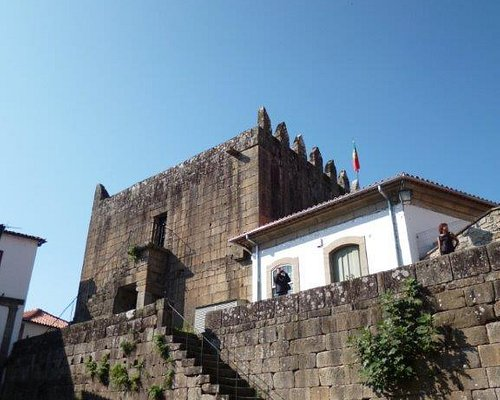 Ponte de Lima and the remnants of its old towers and ramparts