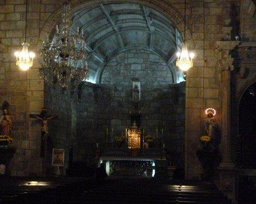 Main altar of Igreja Matriz of Ponte de Lima in Northern Portugal