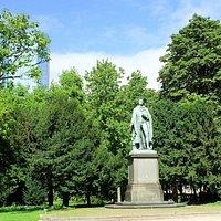 Frankfurt: Schiller-Denkmal