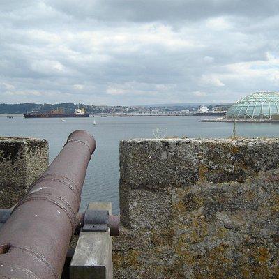 Vistas desde el Castelo de San Antón