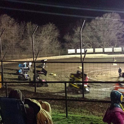 It can get chilly early in the season at Port City Raceway but the racing is always hot.