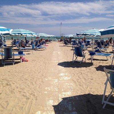 Strand beim Bagni Marini