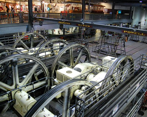 Cable Car Museum --- inner workings of today's cable cars