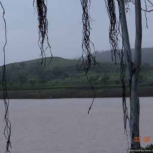 Other bank of reservoir