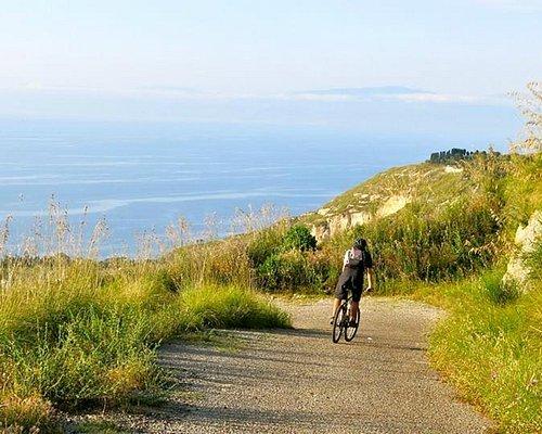 downhill over the sea