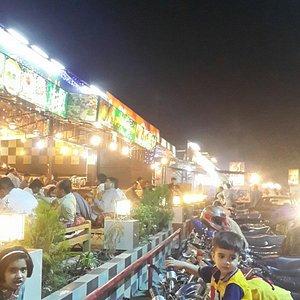 A view of pindi food street