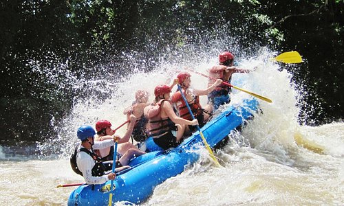 Whitewater Rafting in Panama