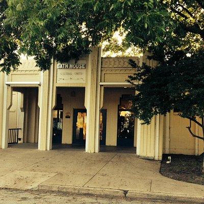 Bath House Cultural Center - front entrance