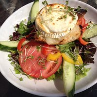 Fab roasted goats cheese salad