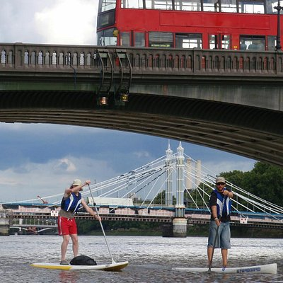 SUP on the Thames