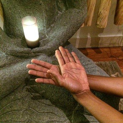 Guerda's healing hands
