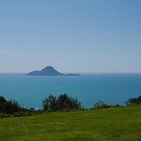 Whale Island from Kohi Point Lookout