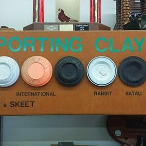 clay pigeons