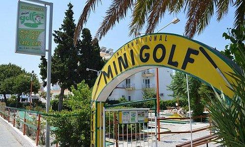 Faliraki mini golf (main entrance)/Rhodes